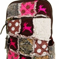 Hunting back pack, Pink Camouflage Backpack