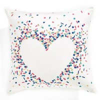 Nordstrom at Home 'Confetti Heart' Accent Pillow