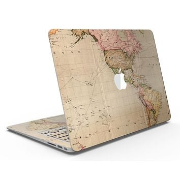 The Western World Overview Map - MacBook Air Skin Kit