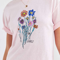 Gnarly Bouquet Short Sleeve Tee | Urban Outfitters
