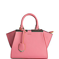 Fendi - 3Jours Mini Leather Shopper - Saks Fifth Avenue Mobile