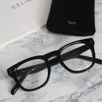 Celine Bevel Square Keyhole Eyeglasses Frames (2 Colors)