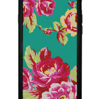 Teal Floral iPhone 6/6s Case