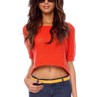 Holly Cropped Sweater $18