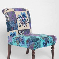 Magical Thinking Patchwork Floral Chair- Multi One