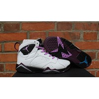 "Air Jordan 7 GS ""Fuchsia'sport shoes"