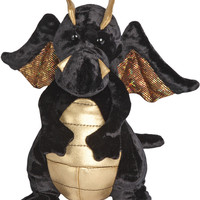Merlin the Dragon - Black and Gold