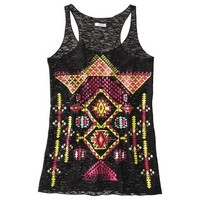 Target : Xhilaration® Juniors Festival Graphic Tank - Assorted Colors : Image Zoom