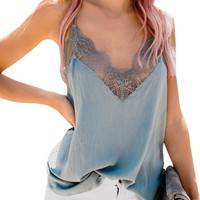 Women Strappy Sleeveless Beach Club Party Camisoles