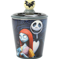The Nightmare Before Christmas Jack Skellington And Sally Toothbrush Holder