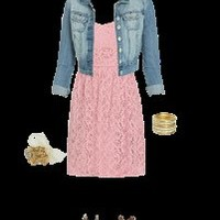 Hot off the WetSeal Runway: Valentine's Day Cutie outfit designed by Flower love