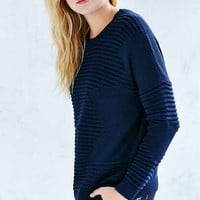 Silence + Noise Rib Stitch Pullover Sweater