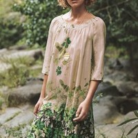 Vanessa Virginia Rainforest Silk Dress