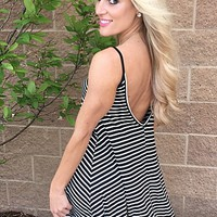 Stripe Summer Dress : Mesh