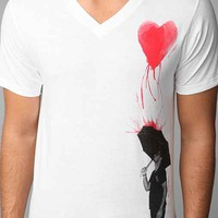 Profound Aesthetic Pouring Heart Tee- White L