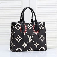 LV Louis Vuitton women's shopping bag handbag shoulder bag