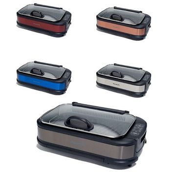 PowerXL 1500W Smokeless Grill Pro with Griddle Plate