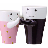 His & Hers Dancing Couple Mugs (Set)