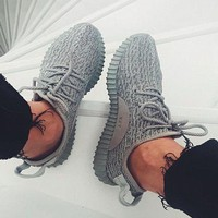 Adidas Women Yeezy Boost Running Sports Sneakers Shoes