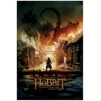 The Hobbit: The Battle of the Five Armies Smaug Theatrical Poster |