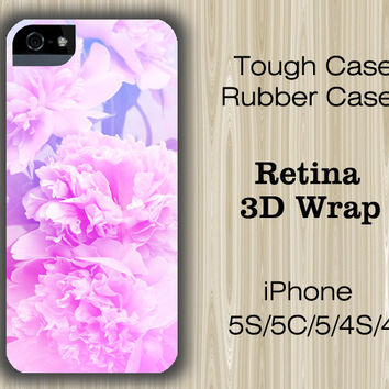 Pastel Pink Floral iPhone 6/5S/5C/5/4S/4 Case