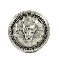ROIAL Lion Pinky Ring Silver