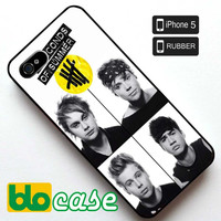 5 Seconds of Summer Personel Iphone 5 Rubber Case