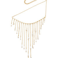 Fringe 18K Gold Diamond Necklace | Moda Operandi