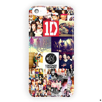 1D And 5Sos One Direction Boy Band For iPhone 5 / 5S / 5C Case