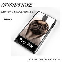 New Design Funny Hilarious Pug Life Parody Fans For Samsung Galaxy Note 3 Case Please Make Sure Your Device With Message Case UY