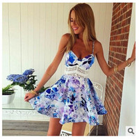 New Fashion Summer Sexy Women Dress Casual Dress for Party and Date = 4458036228