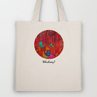 Which Way? Tote Bag by Sophia Buddenhagen | Society6