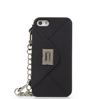 Black BCBG iPhone 5 Turn-Lock Handbag Case