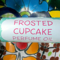 Frosted Cupcake Perfume Oil ~ Roll On Oil