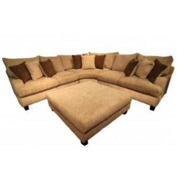 CARLTON WINDFALL SAND SECTIONAL - Sectionals - Living Room Gallery Furniture