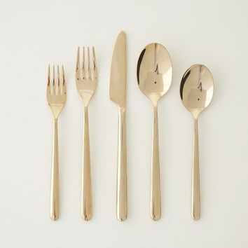 Rose Gold Flatware 5-pc. Place Setting