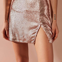 Motel Helena Sequin Mini Skirt | Urban Outfitters