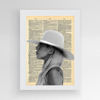 Instant download, Lady Gaga, Joanne Digital print, digital art,Lady Gaga Poster, Printable Wall Art,  modern decor, album cover, art print