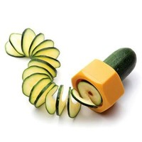 As Seen On TV Practical Creative Spiral Slicer Cucumber Melon Salad Kitchen Tool [8045600583]