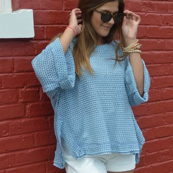 On Your Own Relaxed Top