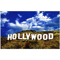 Hollywood Sign Poster 11x17