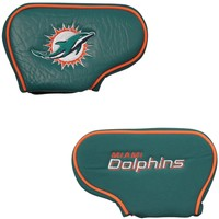 NFL Miami Dolphins Blade Putter Golf Headcover
