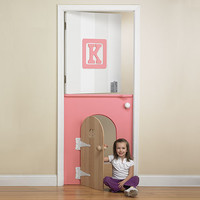 Child's Mini Door In Pink : Toys For Girls at PoshTots