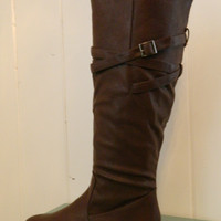 Strappy Riding Boot