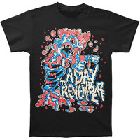 A Day To Remember Men's  Jack In The Box T-shirt Black