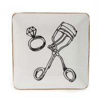 Ceramic Graphic Jewelry Tray