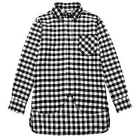Flannel Double Extended Rear Shirt
