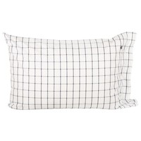 American Country Pinpoint Check Pillowcase - Navy - 50x75cm from Lexington