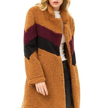 Banded Teddy Coat