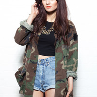 US Army Camo Jacket
